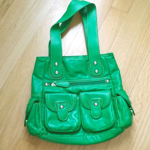 Handbags - Kelly Green Shoulder Bag
